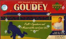 NIB 2007 UD Baseball Goudey MLB 1 Pack 8 Cards Sealed