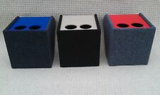 vw t4 transporter cup holder / center console, with Blue lid.    (CODE RL 1)