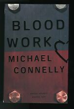 Michael Connelly, BLOOD WORK, ARC, Fine in wraps, SIGNED!