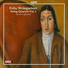 Felix Weingartner: String Quartets CD NEW