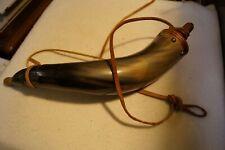 Powder Horn. Muzzleloaders. 18 inch length.