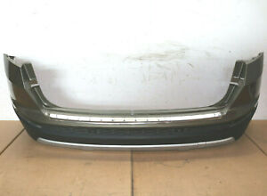 Original Blende Stoßstange hinten unten silber SEAT ATECA Spoiler