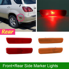 Front Rear Side Marker Bumper Signal Lamp Corner Light For Lexus RX300 1999-2003