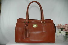 Gorgeous COACH Chelsea Cognac WHISKEY LEATHER Bag Purse CARRY ALL -  25359