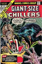 MARVEL COMICS CHILLERS Giant Size # 2 May 1974 Macabre & Weird Worlds