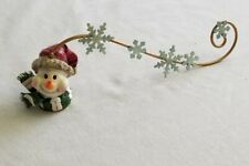 """Snowman Christmas Candle Snuffer - 13"""""""