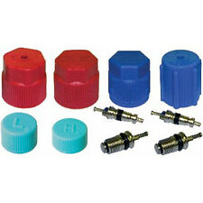UAC VC 2909 A/C System Valve Core and Cap Kit