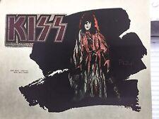 vTg AUCOIN Orig KISS 1979 Paul Stanley LOVE GUN ROCK CONCERT t-shirt iron-on NOS