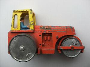 Dinky Meccano Die Cast Model 279 Aveling Barford Diesel Roller Orange (Ref D117)
