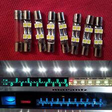 7x LED Lampen Marantz Pioneer Vintage Stereo Sansui Tuner Receiver Licht Ersatz
