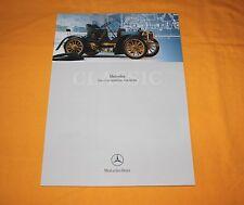 Mercedes Classic 1902 Simplex 40 PS Prospekt Brochure Catalog Prospetto Depliant