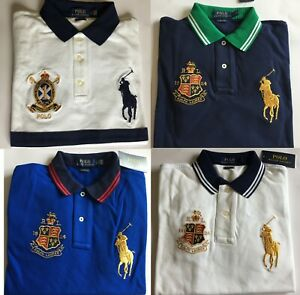 Polo Ralph Lauren BIG PONY Polo Shirt Classic Fit Men's Polo