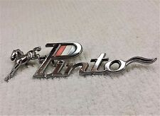FORD PINTO EMBLEM RED WHITE AND BLUE WITH HORSE #D12B16B114AD