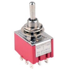 SALECOM 3PDT MINI TOGGLE SWITCH 9 PIN ON-OFF-ON
