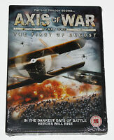 AXIS OF WAR -PART ONE - THE FIRST OF AUGUST - DVD - NEW IN SEALED BOX
