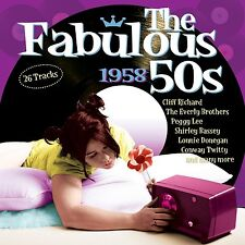 The Fabulous 50s 1958 CD Cliff Richard Everly Brothers Perry Como Connie Francis
