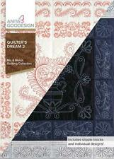Quilter's Dream 2 Anita Goodesign Embroidery Machine Design Cd New