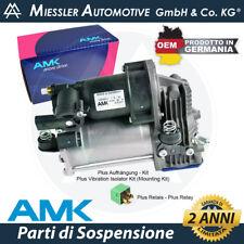 Mercedes Classe ML W164 Compressore + Kit sospensioni pneumatiche OEM AMK