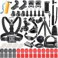 Accessories Kit for GoPro Hero 7 6 5 Session 4 3+ 3 SJ4000 SJ5000 SJ6000 Action