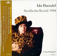 IDA HAENDEL & CRAIG SHEPPARD-STOCKHOLM RECITAL 1984-JAPAN 2 LP Ltd/Ed AI70