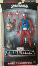 """Marvel Legends Rhino Wave Ben Reilly Scarlet Spider 6""""Figure In Stock MIB"""