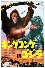 "KING KONG VS GODZILLA  JAPANESE VERSION  - MOVIE POSTER 12"" x 18"""