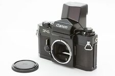 *Near Mint* Canon F1 35mm Slr Camera Body Only w/ Speed Finder from Japan #153