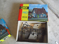 Vintage HO Scale Pola Quick Cottage House Building Kit in Box B516 #2