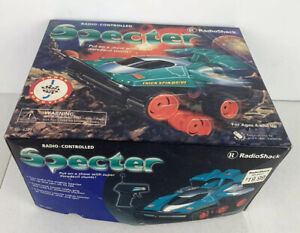 SPECTOR Vintage RADIO SHACK Remote Control Spining 360° Rally Car Toy NEW IN BOX