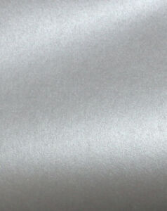8.5x11 Silver Metallic Scrapbook Cardstock Paper Crafts Arts Stampin 25 pcs