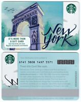 2016 Starbucks Coffee New York Gift Card NYC Limited Edition New