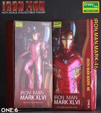 1/6 MARVEL HERO IRON MAN MK MARK 46 XLVI COLLECTIBLE ACTION FIGURES CRAZY TOYS
