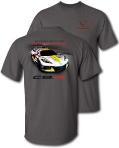 Corvette C8.R Racing T-Shirt Dark Gray