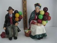 Royal Doulton Figurine S # 1315 & 1954 Old Balloon Seller & Balloon Man