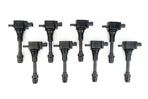 Ignition Coil Pack Set of 8 - Fits Nissan Titan, Armada & Infiniti QX56 5.6L