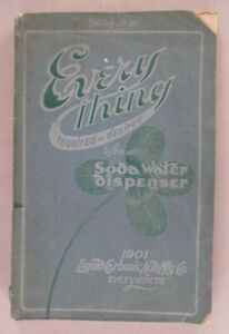Liquid Carbonic CATALOG - 1901 ~~ soda fountains & soda water supplies