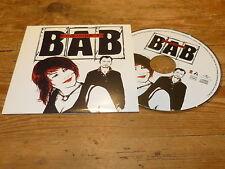 BAB - BIENVENUE A BORD !!!!!!!! RARE CD PROMO !!!!!!!!!!!!