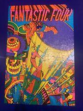 Fantastic Four Third Eye jigsaw puzzle (1971): Marvel black light - incomplete