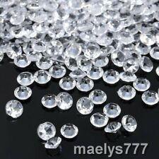 Diamant Confettis transparent 1000pcs x 4mm décoration mariage soirée fêtes .
