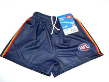 AFL ADELAIDE CROWS KIDS FOOTY SHORTS - BRAND NEW