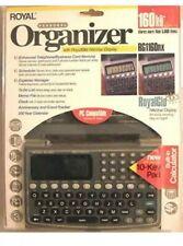 NEW Royal Personal Organizer RG1160nx PDA 160KB w/ Royal Glo Nite Vue sealed