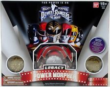 Bandai Power Rangers Mighty Morphin Movie Legacy Red Power Morpher coins NEW