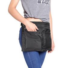 4 Pockets Market Trader Money Bag Cash Belt Adjustable Waist Strap Many Color