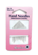 Hand Sewing Needles Embroidery/Crewel Choice of Size
