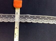 CAPITAL IMPORTS #21138 WHITE EDGING--1/2 INCH WIDE--6 YARDS