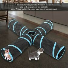 Puppy Interactive Toy Foldable Tunnel Toy Pet Dog Cat Play Tunnel Indoor Outdoor