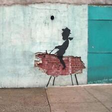 Posavasos De Vidrio Banksy Estilo Moderno Street Art Hecha en Reino Unido Art 2 glassuk Regalo 2168
