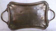 PLATEAU DE TABLE Style LOUIS XVI (Perlé à Poignées)