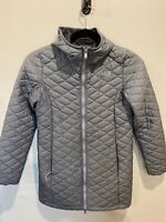 The North Face Parka Women's Eco ThermoBall Jacket Size M Heather Grey Gray
