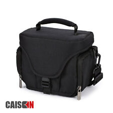 Black Mirrorless Camera Case Carry Shoulder Bag For Canon EOS M3 M10